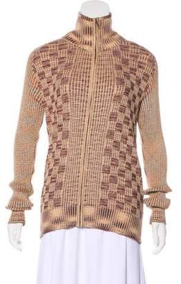 Missoni Wool & Silk Rib Knit Sweater