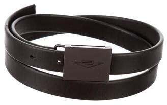 Bottega Veneta Skinny Leather Belt