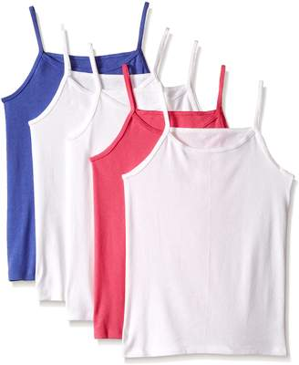 Fruit of the Loom Big Girls 5 Pack Cami