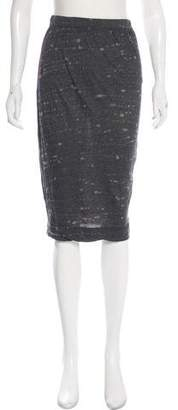 Raquel Allegra Printed Knit Skirt