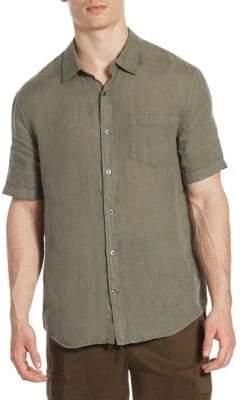 Vince Natural-Fit Linen Shirt