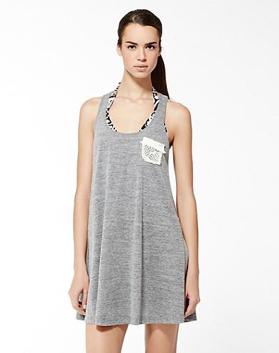 Lucky Brand Wind Spirit Lace Pocket Dress