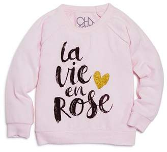 Chaser Girls' La Vie en Rose Top - Little Kid