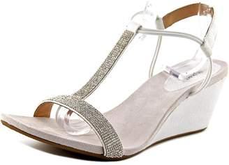 Style&Co. Style & Co. Style & Co Mulan 2 Women White Wedge Sandal