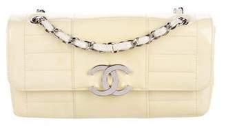 Chanel Patent Horizontal Flap Bag