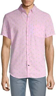 Sovereign Code Pineapple-Print Short-Sleeve Shirt