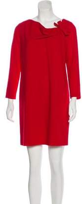 Paule Ka Virgin Wool Mini Dress w/ Tags