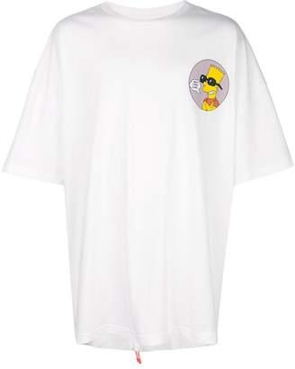 Off-White oversized Bart Simpson T-shirt