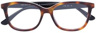Jimmy Choo Eyewear tortoiseshell glasses