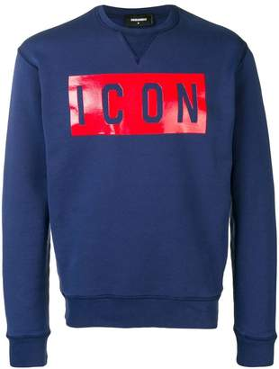 DSQUARED2 Icon jersey sweater