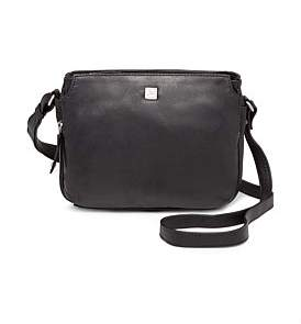 Joan Weisz Leather East/West Mini Sling Bag