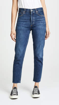 A Gold E AGOLDE Jamie High Rise Classic Ankle Jeans