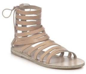 Ancient Greek Sandals Galatia Leather Gladiator Sandals