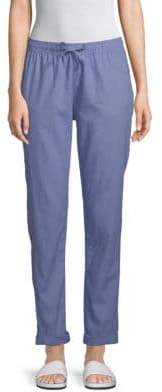 Onia Ella Linen Cotton Coverup Pants