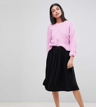 Missguided Tall Pleated Midi Skirt