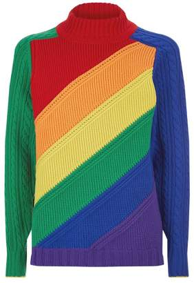 Burberry Rainbow Stripe Sweater