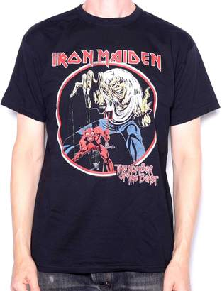 b6be03da1d8 Old Skool Hooligans Iron Maiden T Shirt - Number Of The Beast Retro Print  100%