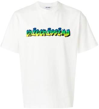 Sunnei slogan T-shirt