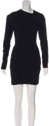 Yigal Azrouel Wool Cutout Dress