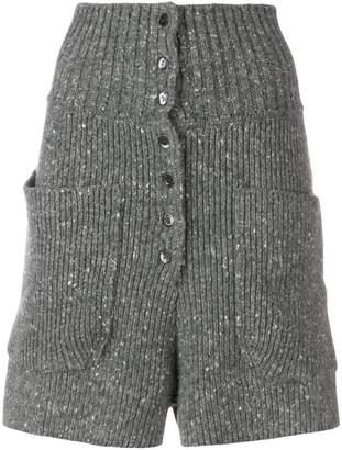 Philosophy di Lorenzo Serafini high waisted knit shorts