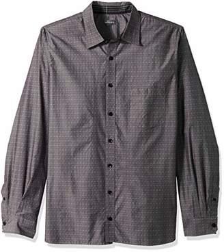 Van Heusen Men's Size Big and Tall Never Tuck Long Sleeve Shirt