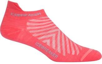 Icebreaker Run Plus Ultra Light Anatomical Micro Sock - Women's