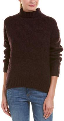 Vince Turtleneck Wool, Cashmere, & Silk-Blend Sweater