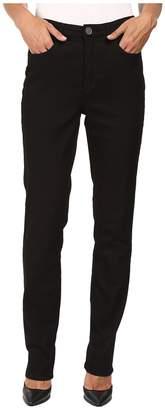 FDJ French Dressing Jeans Supreme Denim Suzanne Slim Leg in Black Women's Jeans