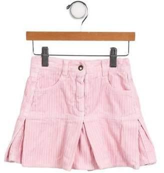 Il Gufo Girls' Corduroy Mini Skirt