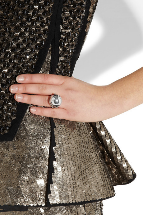 Bottega Veneta Sterling silver ring