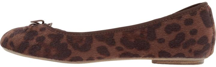 Old Navy Women's Leopard-Print Faux-Fur Flats