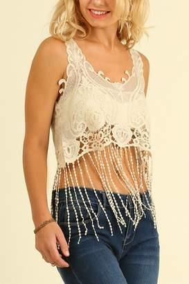 Umgee USA Lace Crop Top