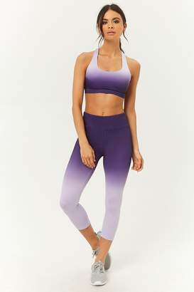 Forever 21 Active Ombre Capri Leggings