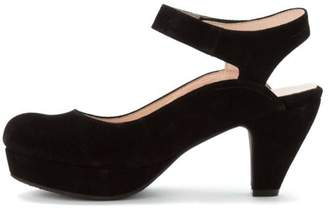 Sacha Open Back Suede Pump