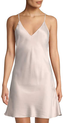 Natori Feathers Satin V-Neck Chemise