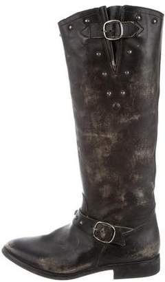 Golden Goose Distressed Riding Boots