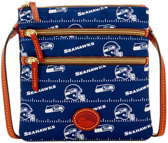 Dooney & Bourke Seattle Seahawks Nylon Triple Zip Crossbody