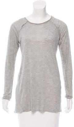Yigal Azrouel Bateau-Neck Long Sleeve Top
