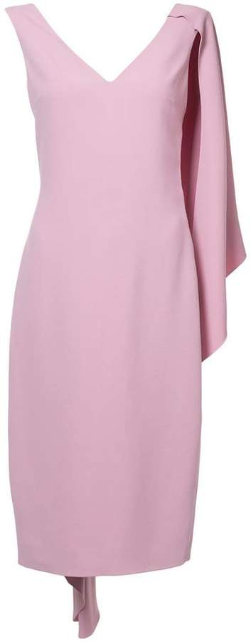 Cushnie et Ochs half cape pencil dress