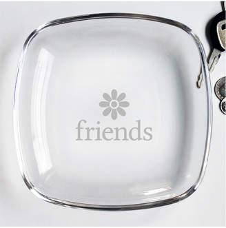 Susquehanna Glass 7In Friends Keepsake Plate