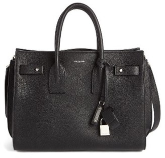 Saint Laurent Small Sac De Jour Tote - Black $2,990 thestylecure.com