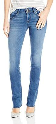 Hudson Women's Petite Size Beth Baby Boot Flap Pocket Jeans