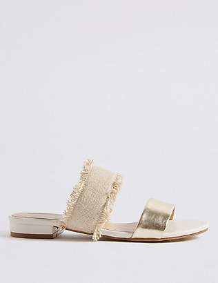 Twiggy Two Band Slide Mule Sandals