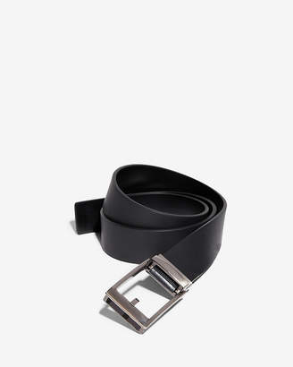 Express Custom Fit Leather Slide Belt