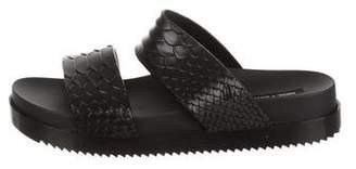 Baja East Melissa + Embossed Flatform Sandals