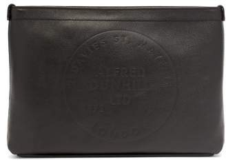 Dunhill Chiltern Leather Pouch - Mens - Black