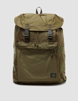 Co Porter Yoshida & Force Rucksack in Olive