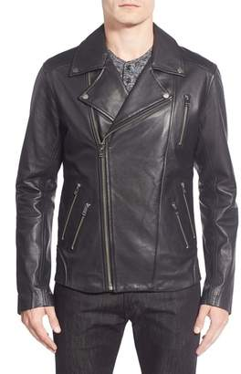 LAMARQUE Moto Leather Biker Jacket