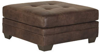 Signature Design by Ashley Oversized Tufted Cocktail Ottoman
