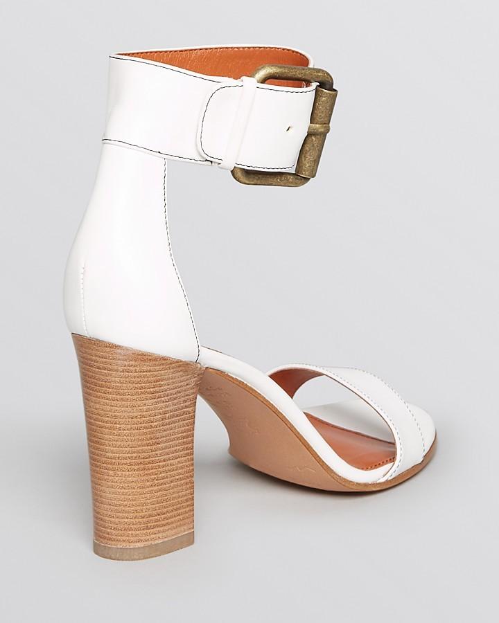Via Spiga Sandals - Foxy Ankle Strap High Heel